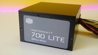 Cooler Master MasterWatt Lite 700W Power Supply! Affordable yet high watts!