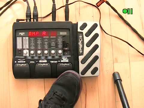 DigiTech RP355 patch test 1 - YouTube