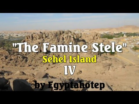 EGYPT 862 - The FAMINE Stele - (by Egyptahotep)
