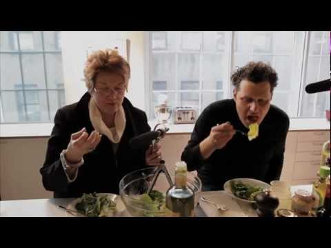 Isaac Mizrahi makes a vinaigrette