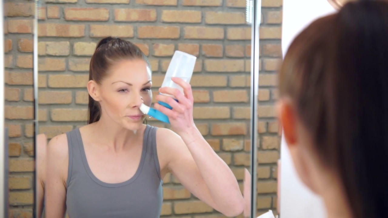 How To Use The Sinucleanse Micro Filtered Nasal Wash