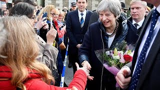 Theresa May à Salisbury