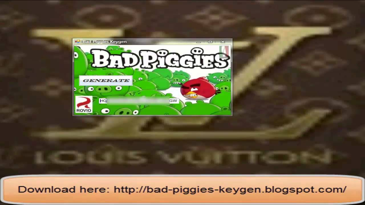 download bad piggies full version with activation key for pc