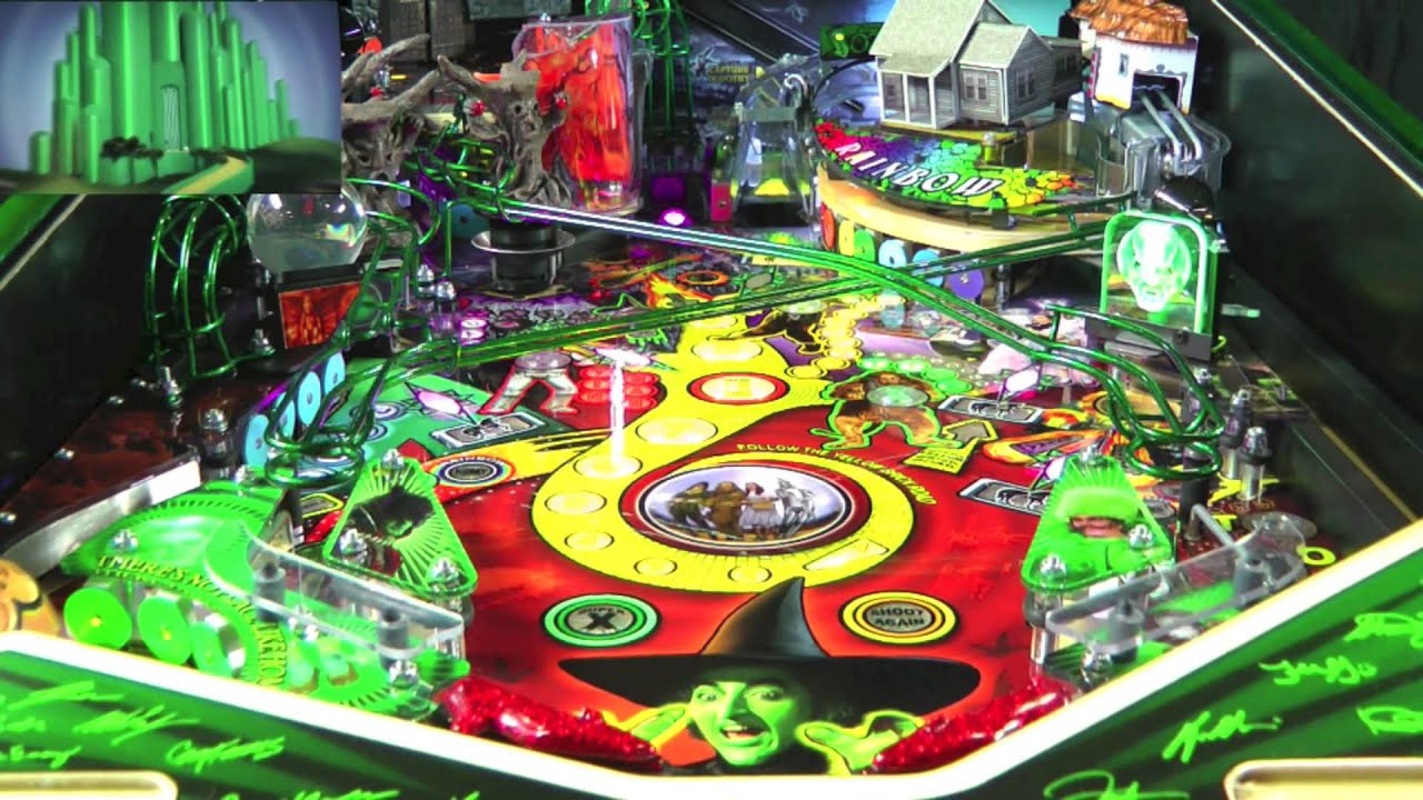 pinball machine wizard of oz