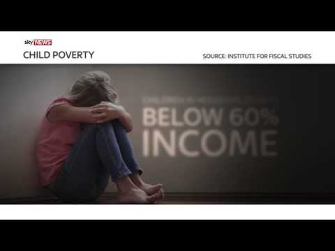 Official Child Poverty Levels On The Rise
