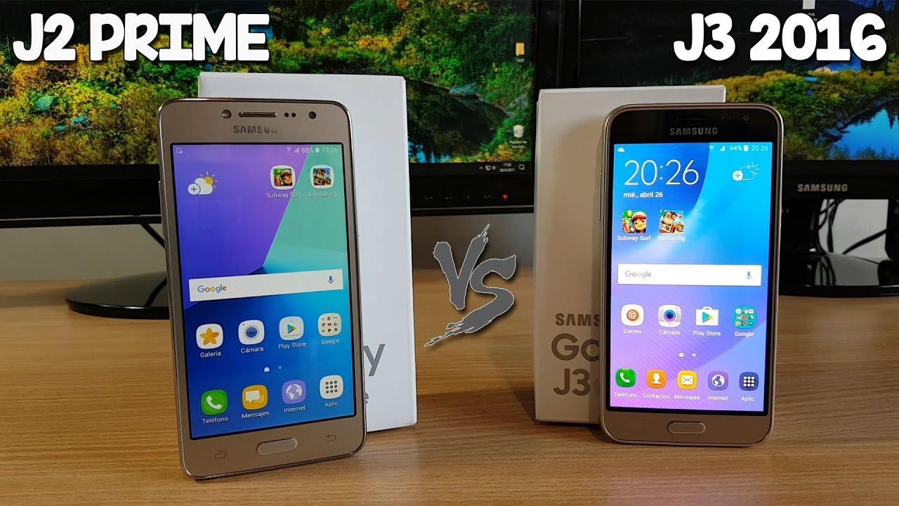 Galaxy J2 Prime VS Galaxy J3 2016