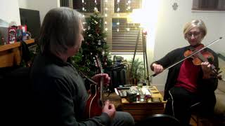 Christmas Eve (reel) on mandolin and fiddle