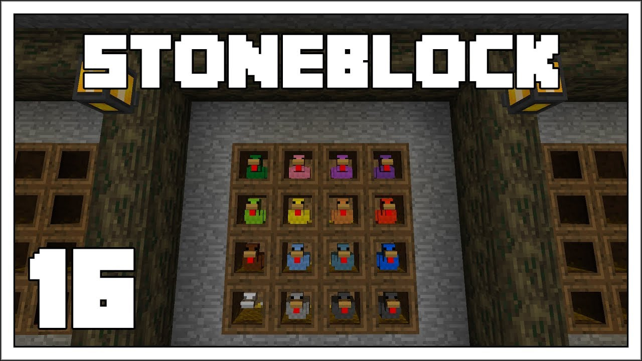 Stoneblock - EP16 - Roosting Some Chickens - Modded