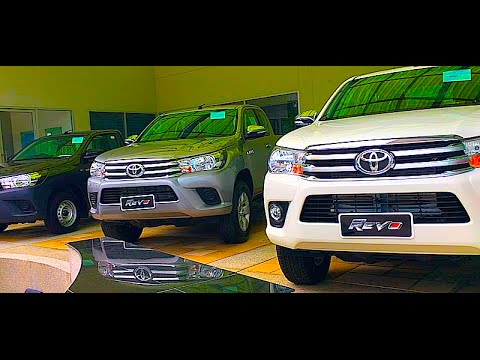 New Generation Toyota Hilux Revo 2017 Double Cab,  Smart Cab, Standard Cab