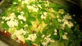 Kohlrabi-lasagne Mit Ziegenkäse