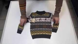 Детский свитер Олени