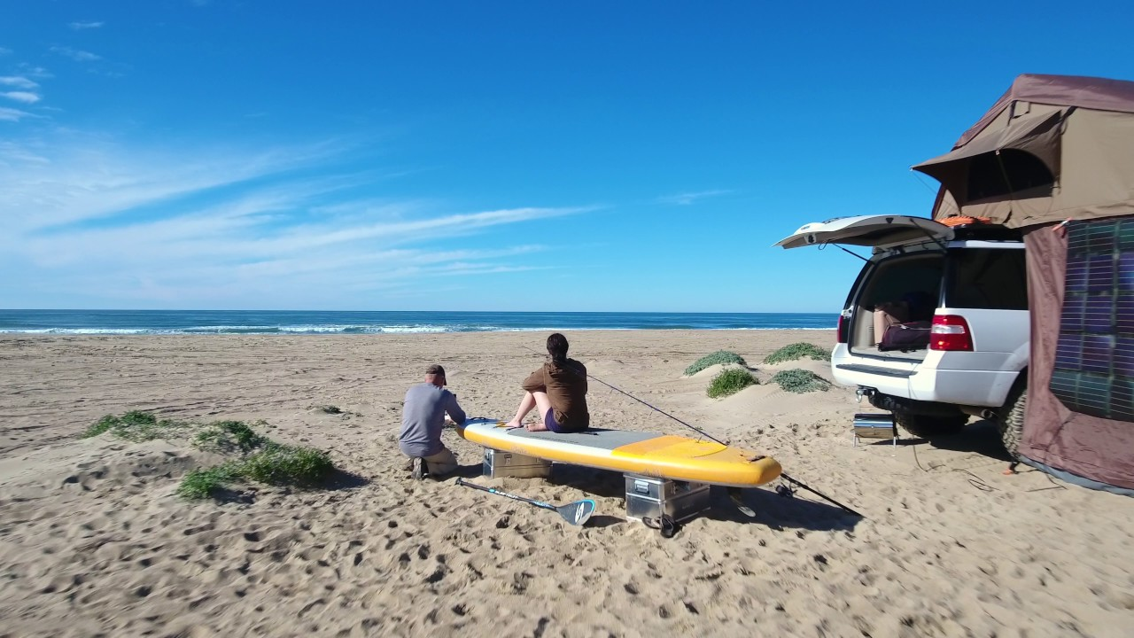 Camping With Friends At Pismo Beach Ca