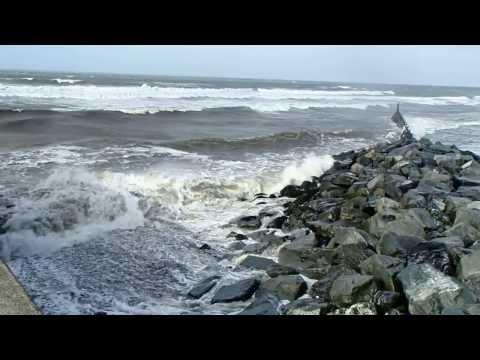Huge Sea at Aberaeron