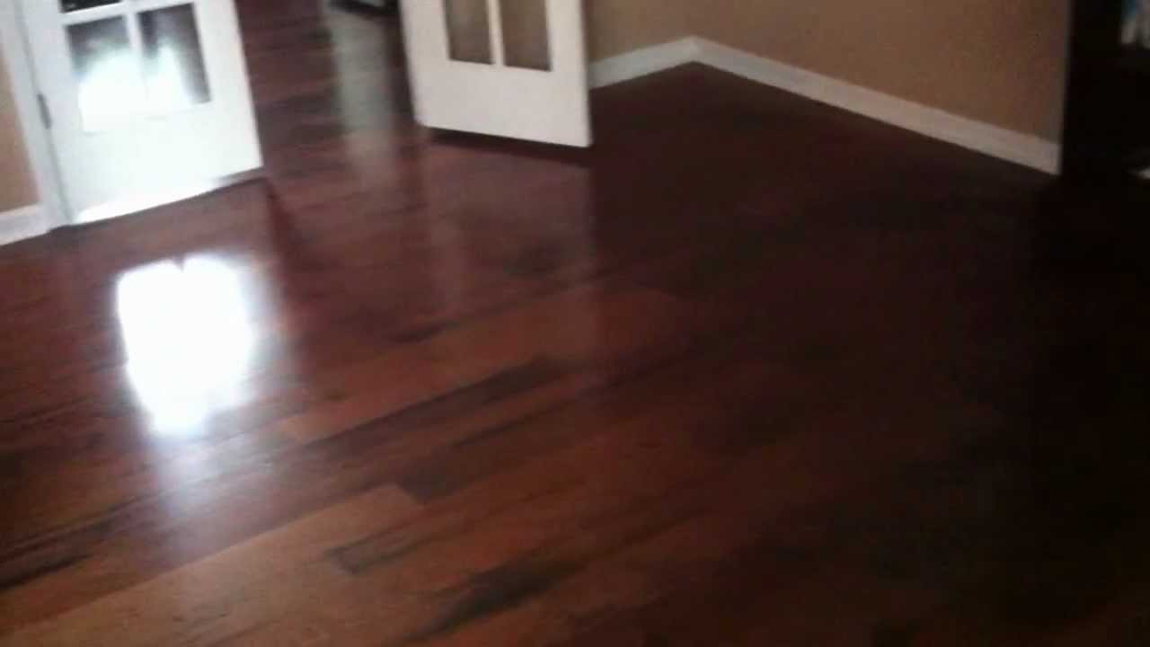 Lock And Fold Bruce Engineered Hardwood Flooring