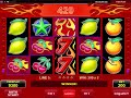 Wild 7 video slot - Online Review casino game by Amatic