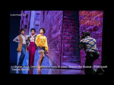 Motown The Musical Production Images London 2017