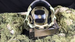Emerson Fast Base Jump Military BJ Style Helmet
