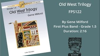 Old West Trilogy (FPS122) by Gene Milford