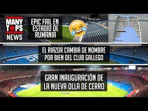 Inauguran la nueva Olla de Cerro Porteño - Aun se trabaja en nuevo estadio para la U   Manynews 19