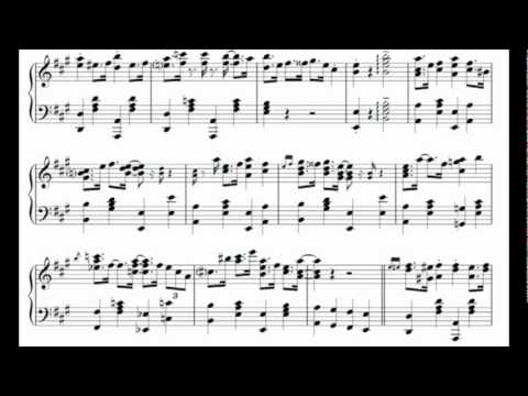 Conker's Bad Fur Day Windy Overworld Theme, piano arrangement sheet music
