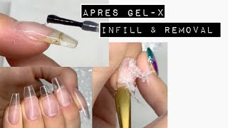 INFILL+REMOVALAPRES | GEL-X NAIL EXTENSION | ISABELMAYNAILS