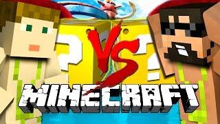 Minecraft | WIPEOUT LUCKY BLOCK CHALLENGE | Head to Head DEATH