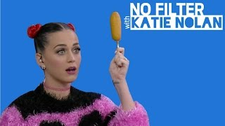 Katy Perry: Gameday Corn Dogs for Feminism