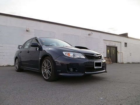 2013 Subaru STI Sub & Amp install