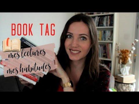 BOOK TAG - Tout Sur Mes Lectures !
