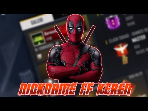 Kumpulan NickName Game Keren Free Fire ML PB PUBG COC 2020.