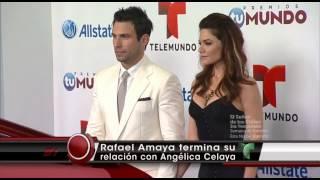 ARV - Rafael Amaya termina su relación con Angélica Celaya