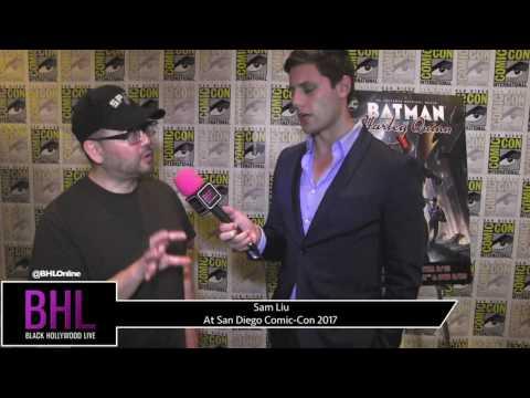 Sam Liu (Batman and Harley Quinn) at San Diego Comic-Con 2017