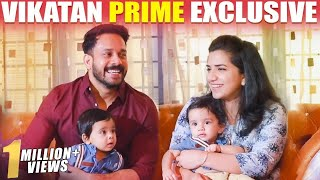 ULTRA CUTE: Difficulties in Raising Twins – Bharath & his Wife First time Open up!