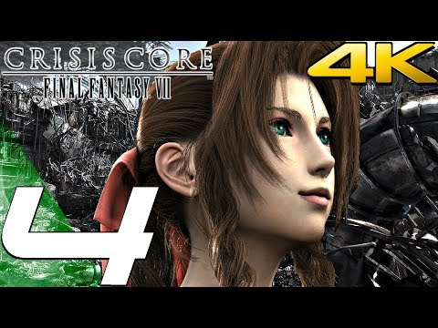 Crisis Core: Final Fantasy VII - Gameplay Walkthrough Part 4 - Reactor & Meeting Aerith [4K 60FPS] from YouTube · Duration:  52 minutes 14 seconds