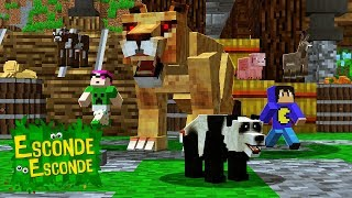 Minecraft: ANIMAIS PEQUENOS! (Esconde-Esconde)