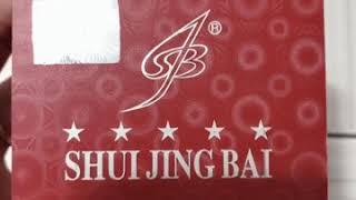 PHÂN BIỆT KEM THẬT GIẢ THUỶ TINH BẠCH ĐÊM SHUI JING BAI-KẾT ZALO TV 0938033035