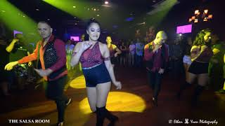 DC TOUCH Bachata Dance Performance At THE SALSA ROOM