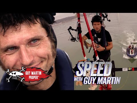Guy's world record pedal-powered airship channel crossing attempt | Guy Martin Proper