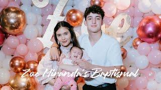 Zoe Miranda&#39s Christening  Daughter of Sofia Andres and Daniel Miranda Video by Nice Print