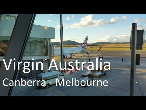 Virgin Australia, Canberra to Melbourne