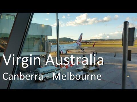 Virgin Australia, Canberra To Melbourne