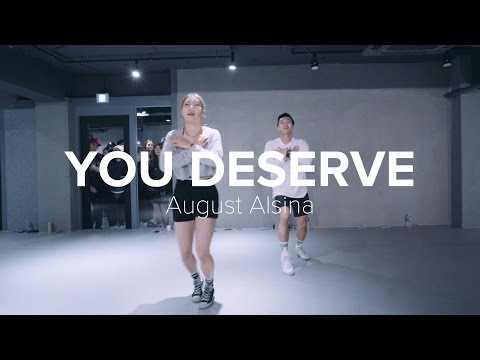 You Deserve  August Alsina Jiyoung Youn Choreography