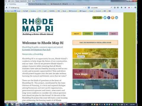 RhodeMap RI, an economic recovery plan?