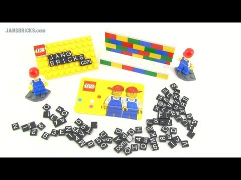 Lego business card holder set 850425 youtube lego business card holder set 850425 reheart Gallery