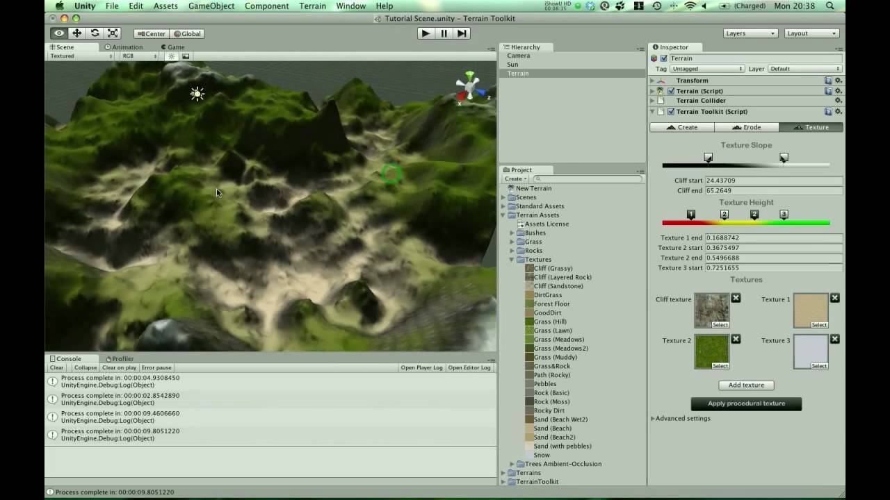 Build Realistic Terrain With Unity 3D's Terrain Toolkit | Studica Blog