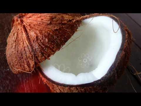 МЯКОТЬ КОКОСА | можно ли есть кожуру кокоса, что делать с кокосом, как кушать кокос,