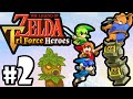 The Legend of Zelda Triforce Heroes PART 2 Gameplay Walkthrough Online Co-Op (Totem Time!) 3DS