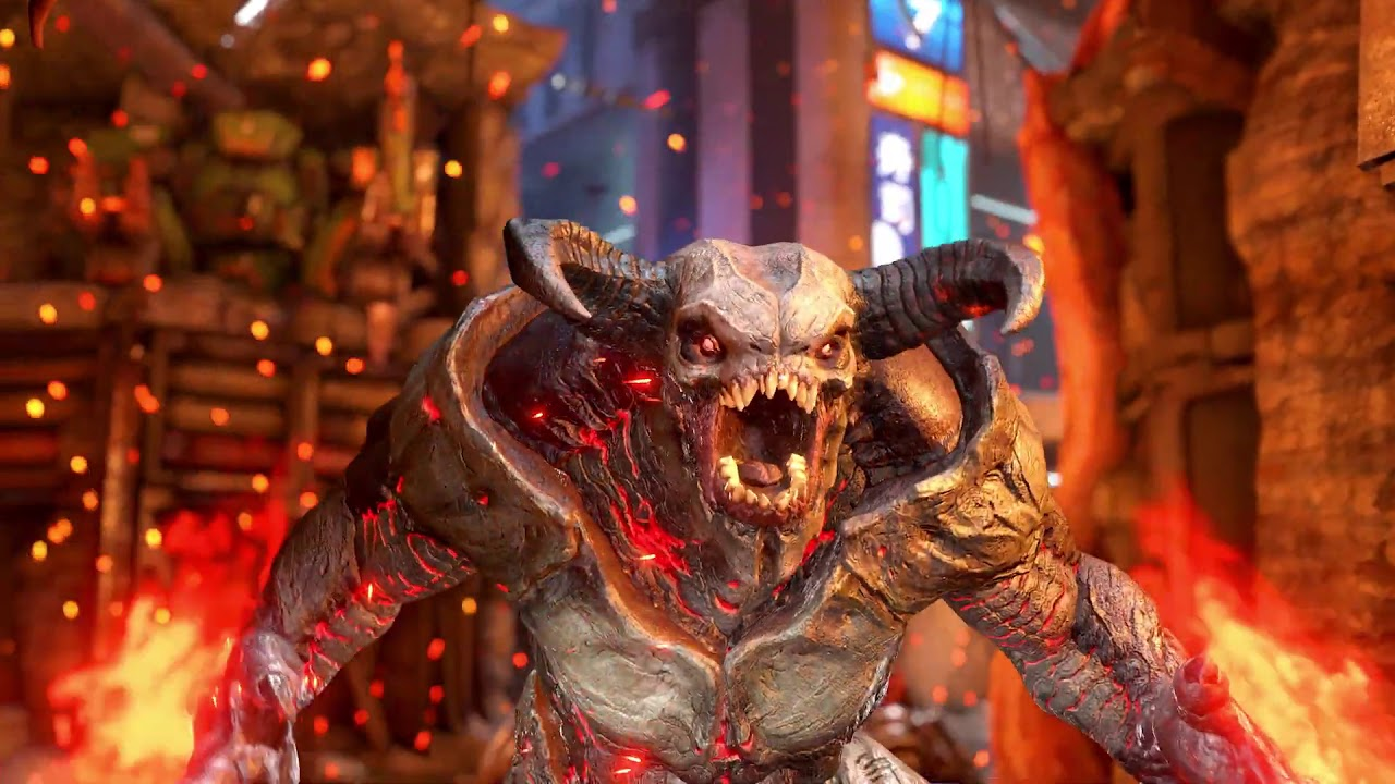 DOOM Eternal Battlemode Multiplayer Gameplay Trailer