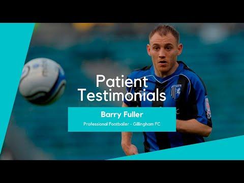 Pec major repair by Mr Ali Noorani for Professional Footballer Barry