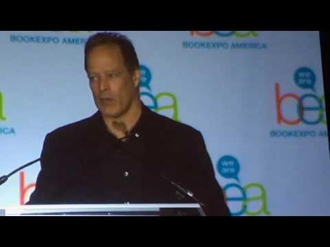 Sebastian Junger  BEA Author Breakfast Speech